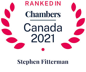 Stephen Fitterman Ranked in Canada Chamber 2021